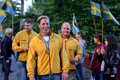 Petter Öström VM-guld