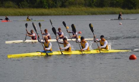 Petter Menning kanot SM k4