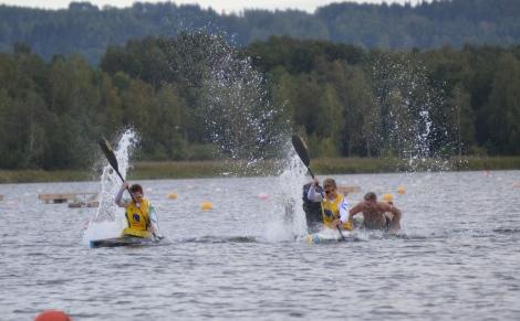 Petter Menning kanot SM