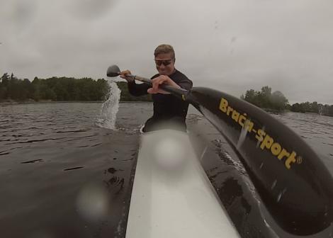 petter menning sprint kayak kanot